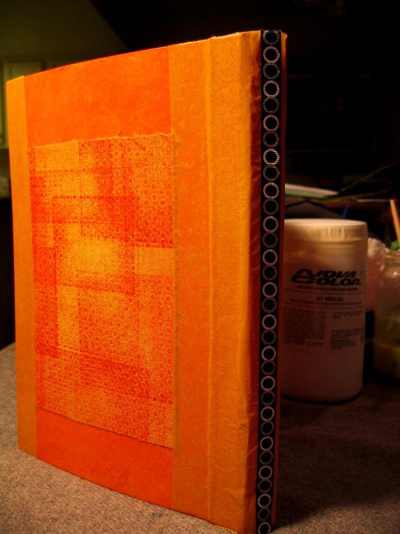 OrangeRobotBookBackandSpine