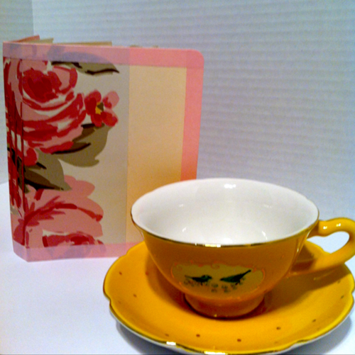 teacup, artjournal
