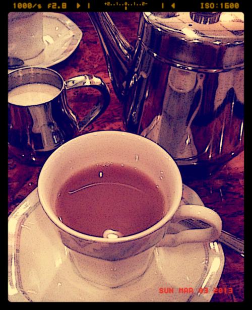 Art and English Tea