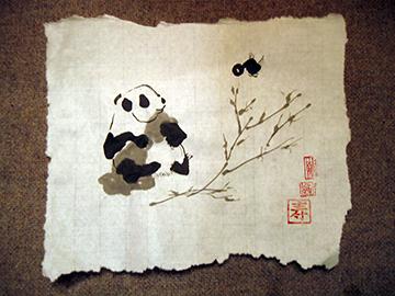 Pandawithblanket